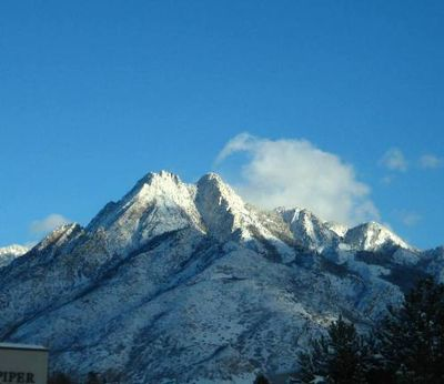Mountaincaughtthesun