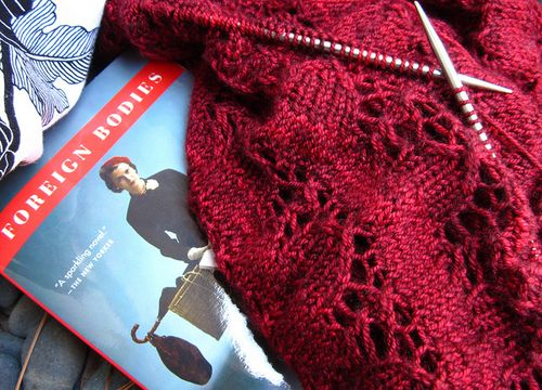 Readingandknitting