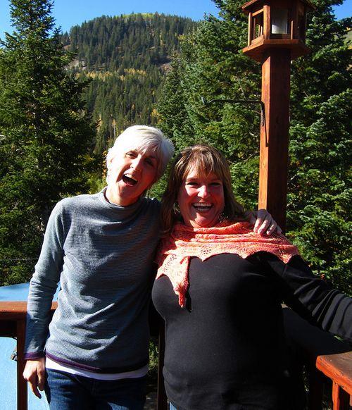 Carole and Kym at SF