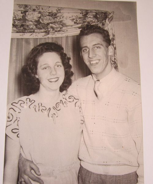 Mom and dad 1948 engagement