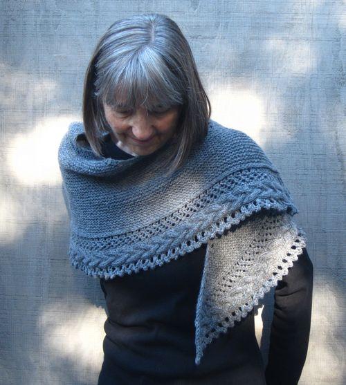 Cheryl's shawl