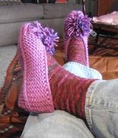 Happyfeetinmyhandknitslippers_2