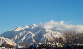 Mountainsafterthestormonsun